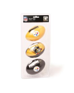 Pittsburgh Steelers 3rd Down 3PK Footballs