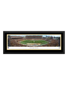 Pittsburgh Steelers Heinz Field Deluxe Frame Panorama - Steelers vs Jets