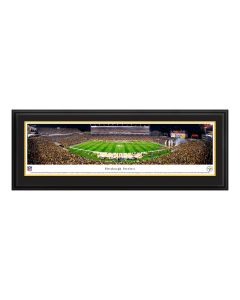 Pittsburgh Steelers Heinz Field Deluxe Frame Panorama - Steelers vs Ravens