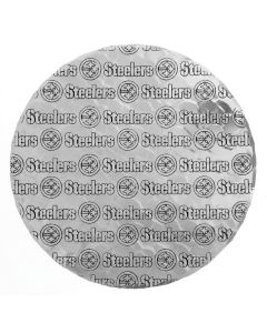 Pittsburgh Steelers Wendell August Forge Patterned Round Aluminum Hot Mat