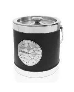 Pittsburgh Steelers Wendell August Forge Leatherette Ice Bucket