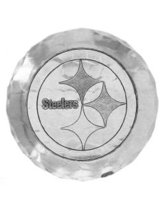 Pittsburgh Steelers Wendell August Forge Single Aluminum Logo Coaster