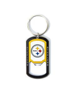 Pittsburgh Steelers Logo Bottle Opener Keychain