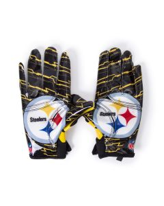 Pittsburgh Steelers Youth Wilson Stretch Fit Receiver Gloves
