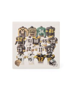 Pittsburgh Steelers Legacy Uniforms Ceramic Coaster