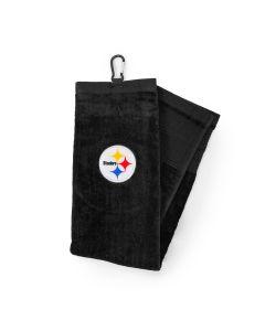 Pittsburgh Steelers Black Golf Club/Face Towel