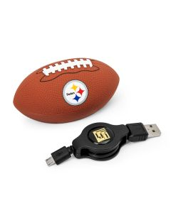 Pittsburgh Steelers Football Shape Universal Phone Charger