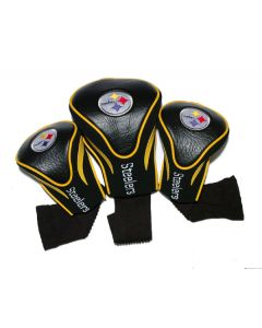 Pittsburgh Steelers Three Pack Contour Golf Club Covers