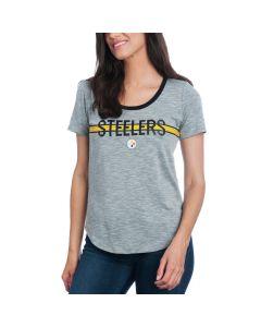 Pittsburgh Steelers Nike Women's Strike Slub Short Sleeve T-Shirt