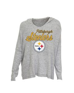 Pittsburgh Steelers Women's Exclusive Reprise Long Sleeve Hoodie