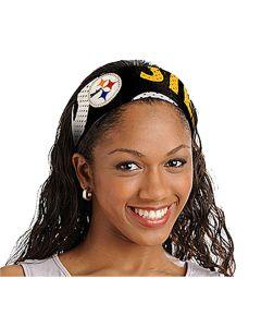 Pittsburgh Steelers Stencil Headband