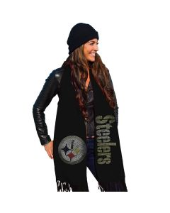 Pittsburgh Steelers Team Dazzle Fashion Scarf