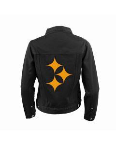 Pittsburgh Steelers Women's Color Rush Flair Denim Jacket