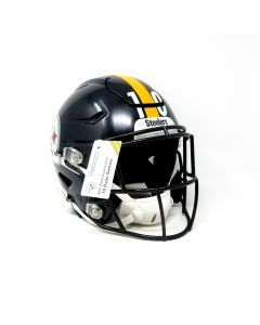 Pittsburgh Steelers #10 Ryan Switzer 2019 Game Used Helmet