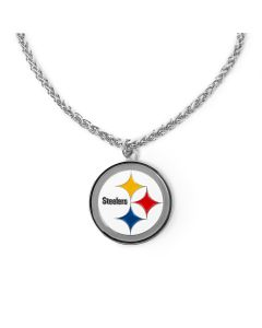 Pittsburgh Steelers Large Logo 30in. Chain Necklace