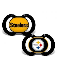 Pittsburgh Steelers Pacifiers - 2 pack