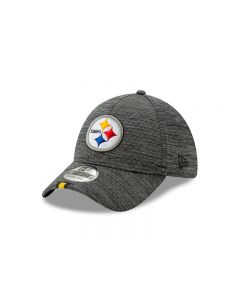 Pittsburgh Steelers New Era 39THIRTY Sideline Graphite Training Hat