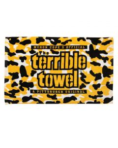 Pittsburgh Steelers Black and Gold Camo Terrible Towel