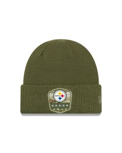 Pittsburgh Steelers New Era YOUTH Salute to Service Sideline Knit Hat