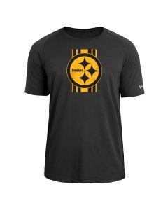 Pittsburgh Steelers Men's New Era Color Rush Jersey Stripe Short Sleeve T-Shirt