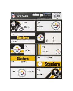 Pittsburgh Steelers Gift Tag Sheets