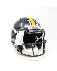 Pittsburgh Steelers 2019 Game Used Helmet Worn by #13 James Washington