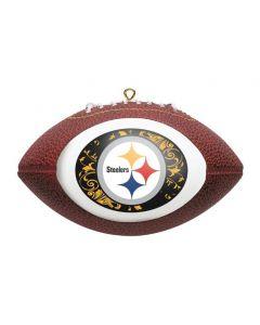 Pittsburgh Steelers Football Ornament