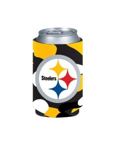 Pittsburgh Steelers Black and Gold Camo Coolie