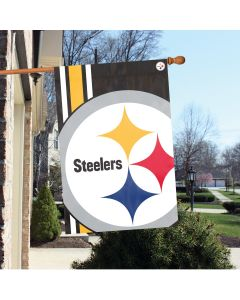 Pittsburgh Steelers Bold Logo Vertical House Flag