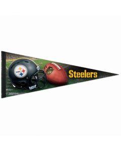 Pittsburgh Steelers Football Helmet Pennant
