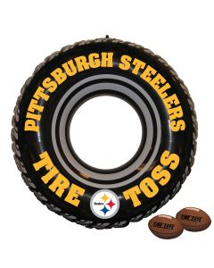 Pittsburgh Steelers Inflatable Tire Toss