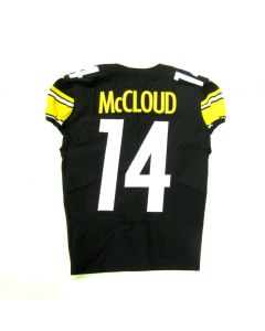 Pittsburgh Steelers Game-Used #14 Ray-Ray McCloud Home Jersey