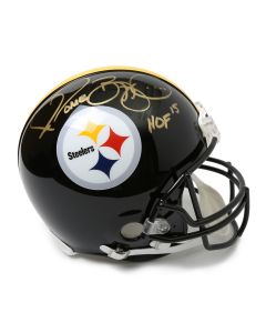 Pittsburgh Steelers #36 Jerome Bettis Autographed Riddell ProLine Authentic Full Size Helmet
