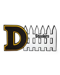 Pittsburgh Steelers 3D Defense Foam Wall Sign