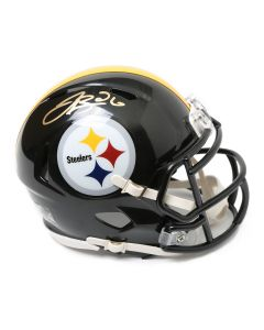 Pittsburgh Steelers #26 Le'Veon Bell Autographed Riddell Mini Helmet