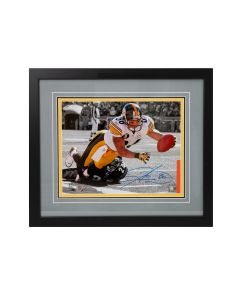 Pittsburgh Steelers #86 Hines Ward Spotlight Signed Framed 11x14 Photo