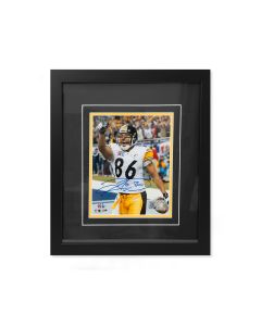Pittsburgh Steelers #86 Hines Ward SB XL Celebration Signed Framed 8x10 Photo