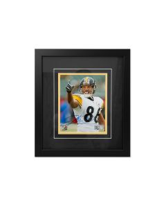 Pittsburgh Steelers #86 Hines Ward Away Close Up Signed Framed 8x10 Photo