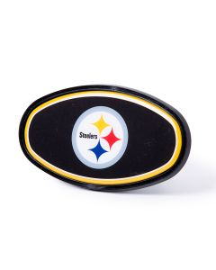 Pittsburgh Steelers Oval GAP Hitch Cover