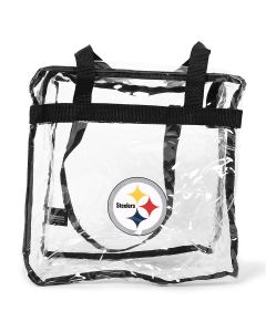 Pittsburgh Steelers Clear Messenger Bag