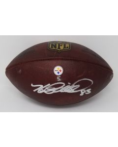 Pittsburgh Steelers #83 Heath Miller Autographed Game-Used Football vs Denver Broncos 12.20.2015