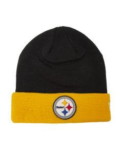 Pittsburgh Steelers New Era 4th Down 2 Tone Knit Hat