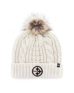 Pittsburgh Steelers Women's '47 Brand Meeko Knit Hat