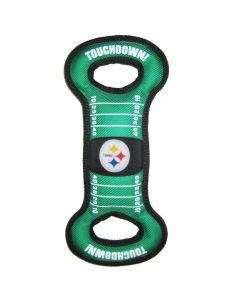 Pittsburgh Steelers Pet Field Tug Toy