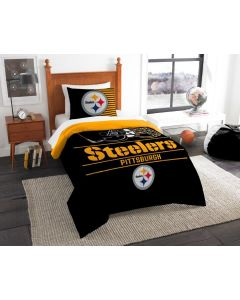 Pittsburgh Steelers Twin Bedding 2 Piece Set