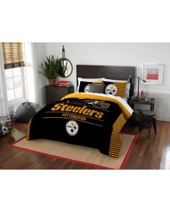 Pittsburgh Steelers Full/Queen Bedding 3 Piece Set