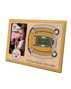 Pittsburgh Steelers 3D Stadium View Picture Frame