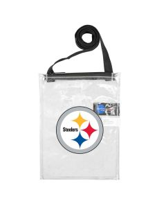 Pittsburgh Steelers Clear Mini Tote Bag