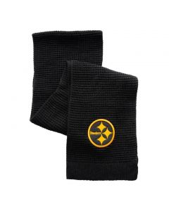 Pittsburgh Steelers Color Rush Waffle Knit Scarf