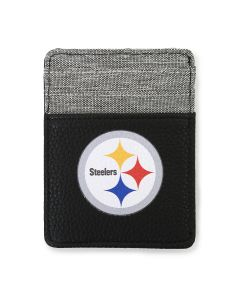 Pittsburgh Steelers Front Pocket Pebble Wallet